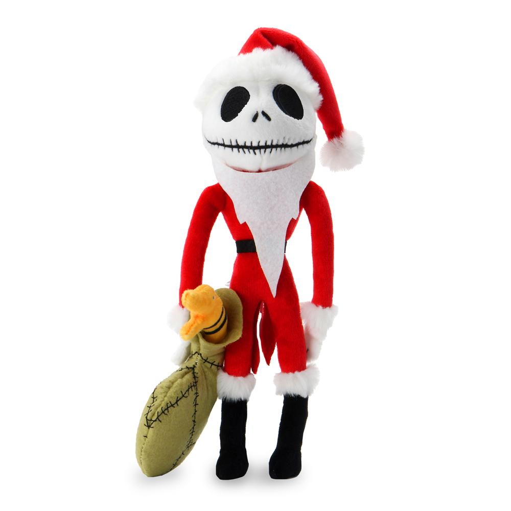 "Kidrobot x The Nightmare Before Christmas Santa Jack 10"" Phunny Plush - Kidrobot - Designer Art Toys"