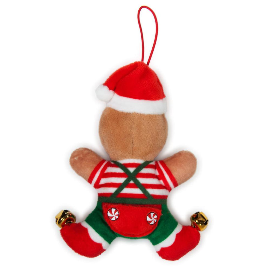 "Small Gingerbread Jimmy 4"" Plush Ornament - Kidrobot - 1"