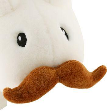 "Stache Labbit White 14"" Stuffed Animal Plush - Kidrobot"