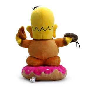 The Simpsons Homer Buddha 10-inch Plush by Kidrobot - Kidrobot - Designer Art Toys