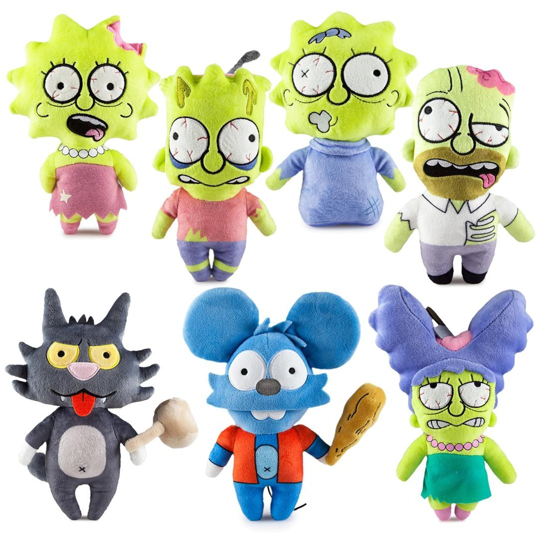 The Simpsons Treehouse of Horror Plush Toys by Kidrobot - Kidrobot