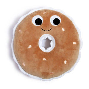 Plush - Yummy World Bobby Bagel Medium Food Plush