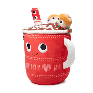 Yummy World Judy Hot Cocoa Plush with Marshmallows & Peppermint Stick - Kidrobot - Designer Art Toys