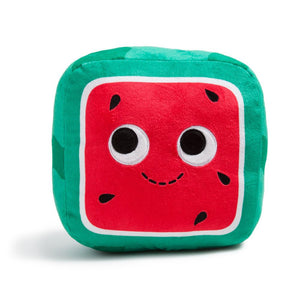Yummy World Kenji Square Watermelon Plush - Kidrobot - Designer Art Toys