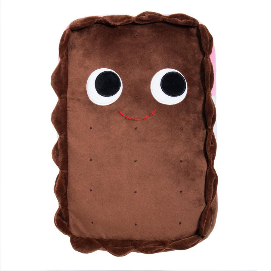 Plush - Yummy World Large Sandy Neoplitan Ice Cream Sandwich Food Plush