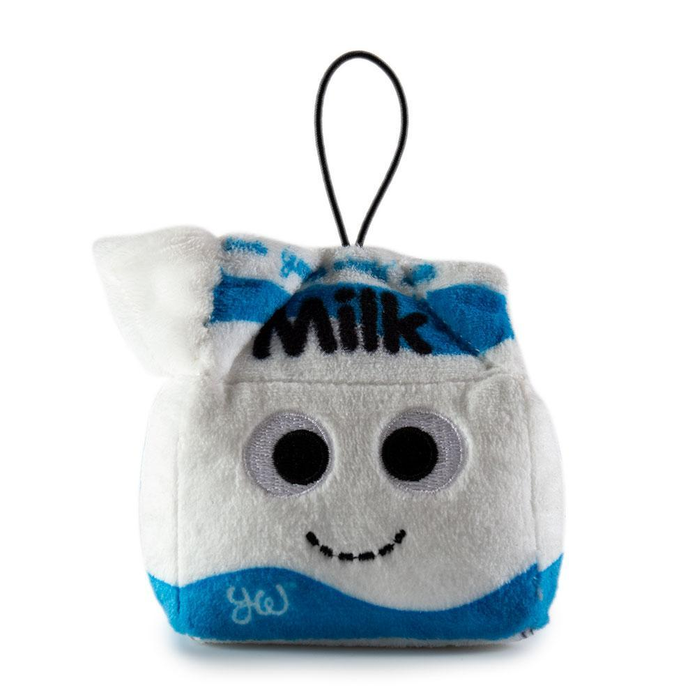 Yummy World Mimi Milk Carton Plush - Small Breakfast in Bed Plushies - Kidrobot - Designer Art Toys