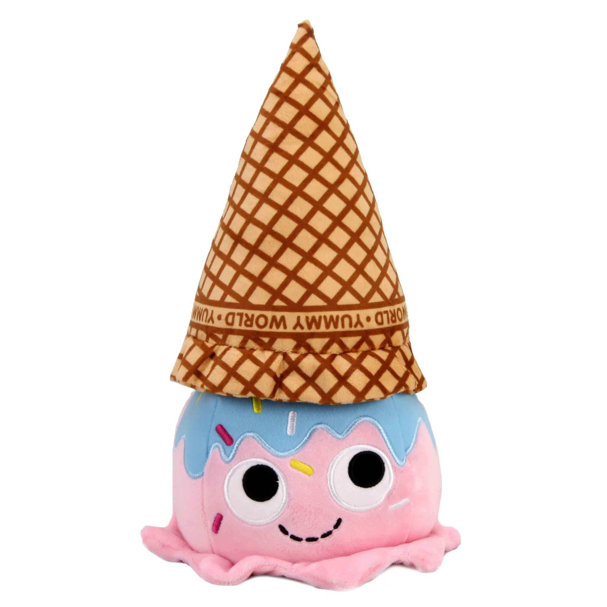 Yummy World Walter Waffle Cone Ice Cream Scoop Plush - Kidrobot - Designer Art Toys