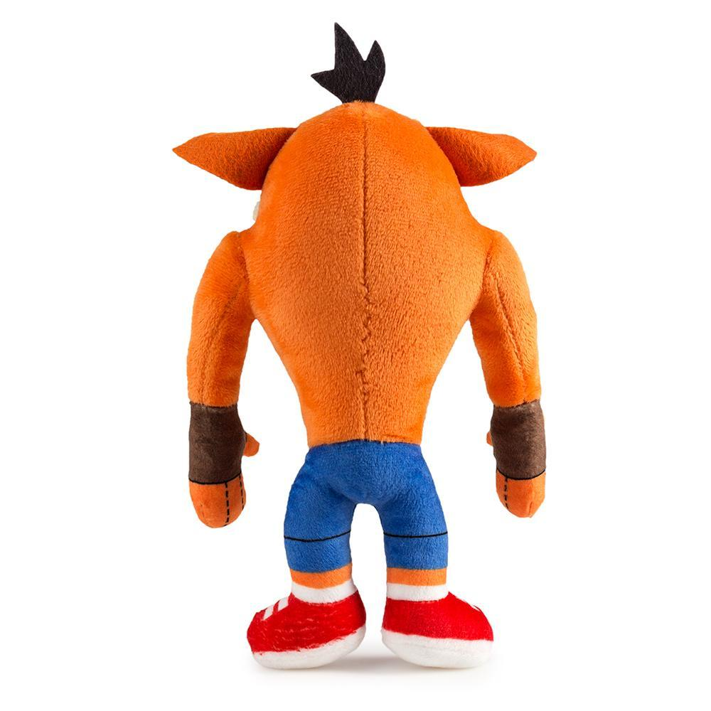 Crash Bandicoot Crash Crazy Eyes Plush - Kidrobot