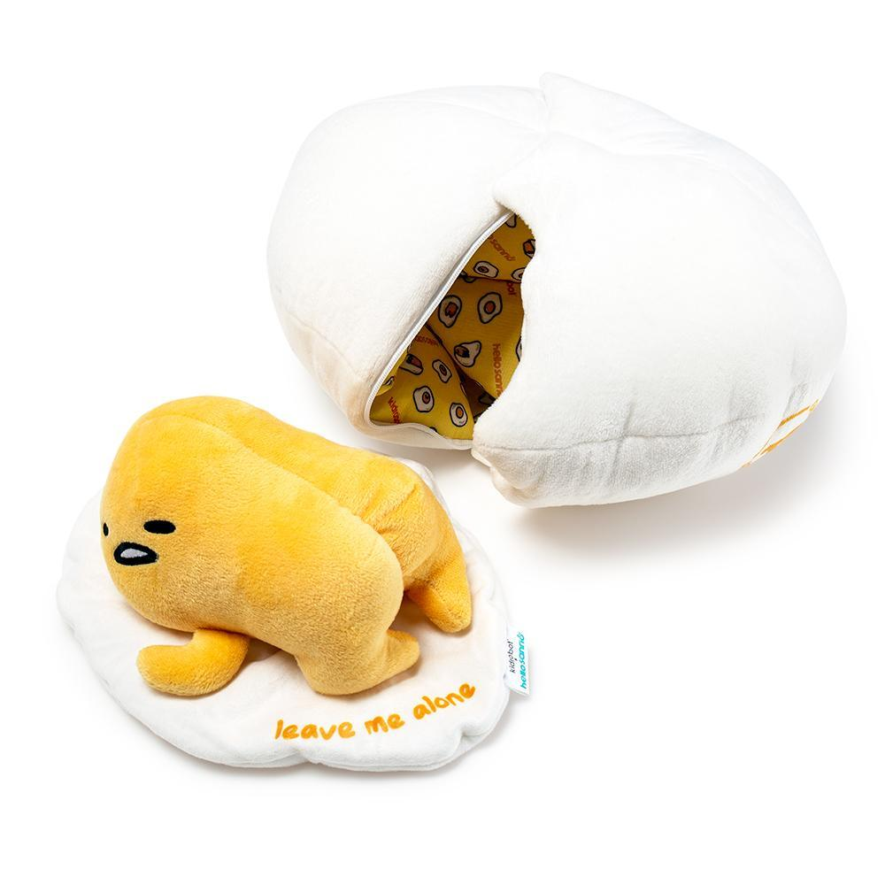 Sanrio® Gudetama Lazy Egg Medium Plush by Kidrobot - Kidrobot - Designer Art Toys