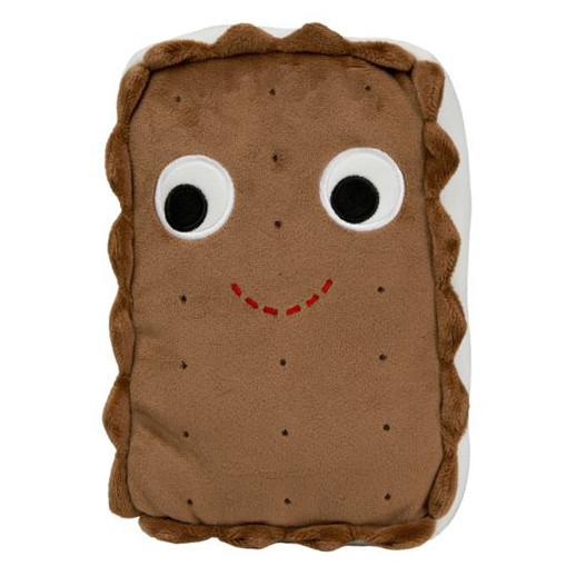 "YUMMY WORLD 10"" Sandy the Ice Cream Sandwich Plush Pillow - Kidrobot - 1"