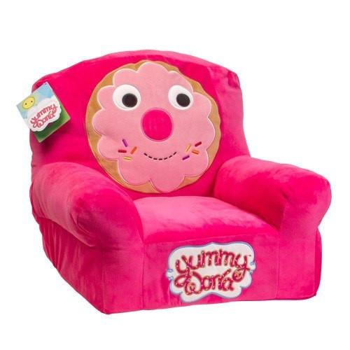 Yummy World Plush Donut Chair - Kidrobot - 1