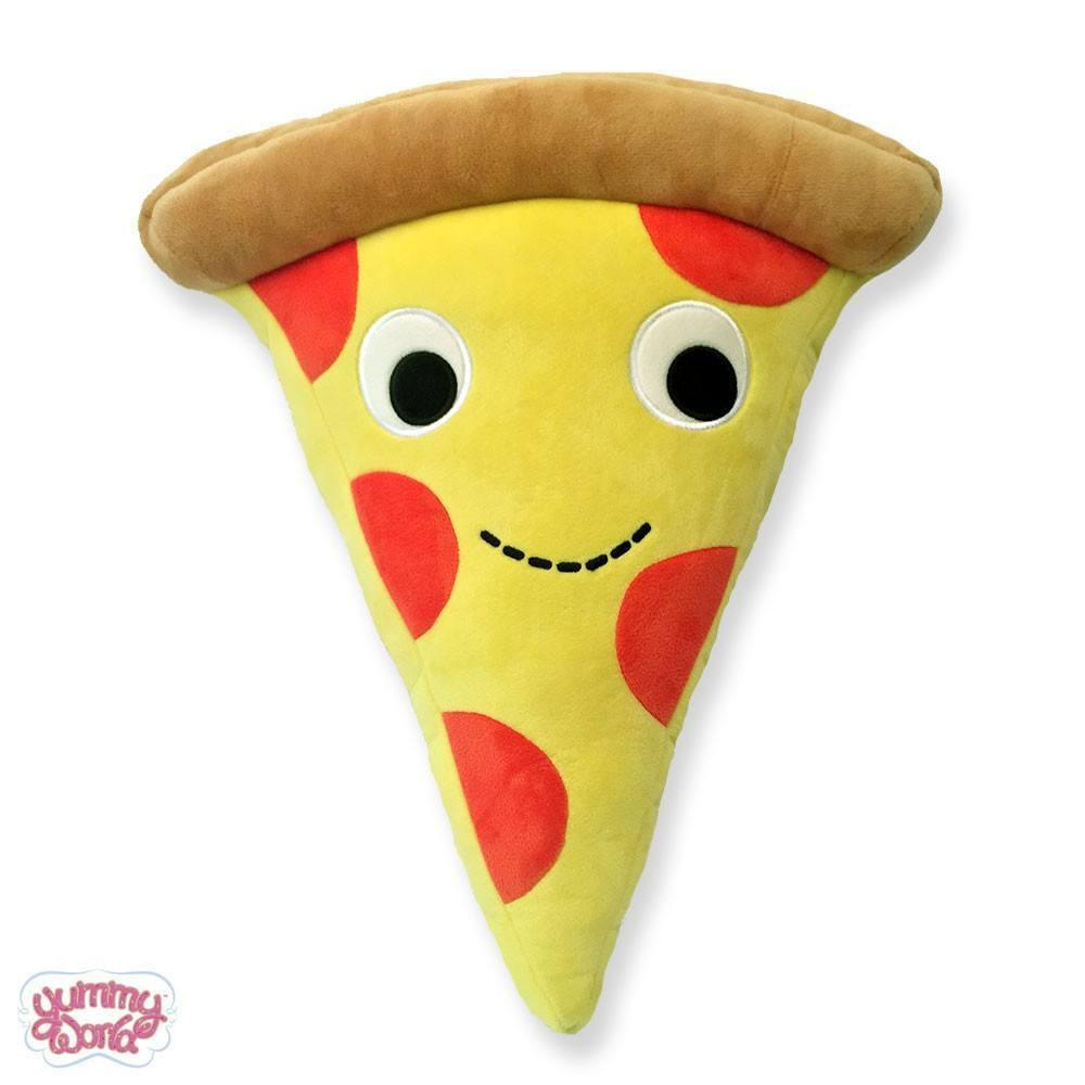 "Yummy World 10"" Cheezy Pie Pizza Plush Pillow - Kidrobot - Designer Art Toys"