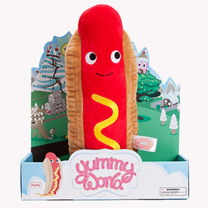 "Yummy World Franky 10"" Hotdog Plush - Kidrobot - Designer Art Toys"
