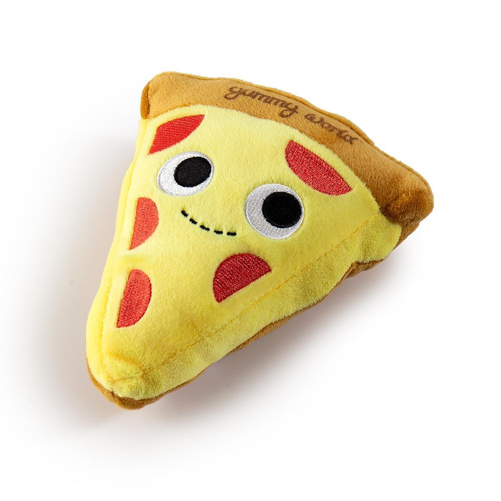 Yummy World Pets: Cheesy Pie Pizza Plush Squeaky Dog Toy - Kidrobot