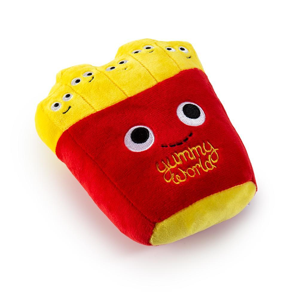 Polyester - Yummy World Pets: French Fries Plush Squeaky Dog Toy