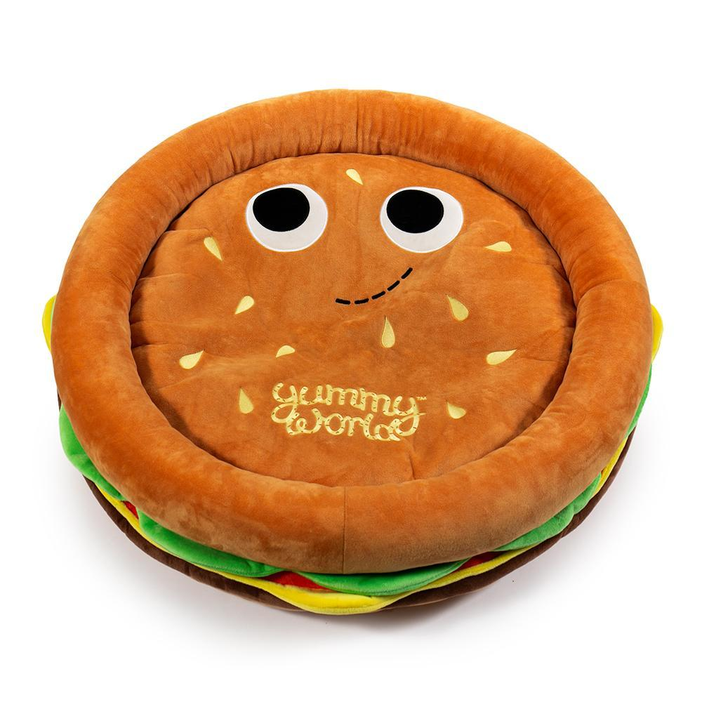 Yummy World Pets: Premium Burger Plush Dog Bed - Kidrobot