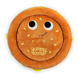 Yummy World Pets: Premium Burger Plush Dog Bed - Kidrobot - Designer Art Toys