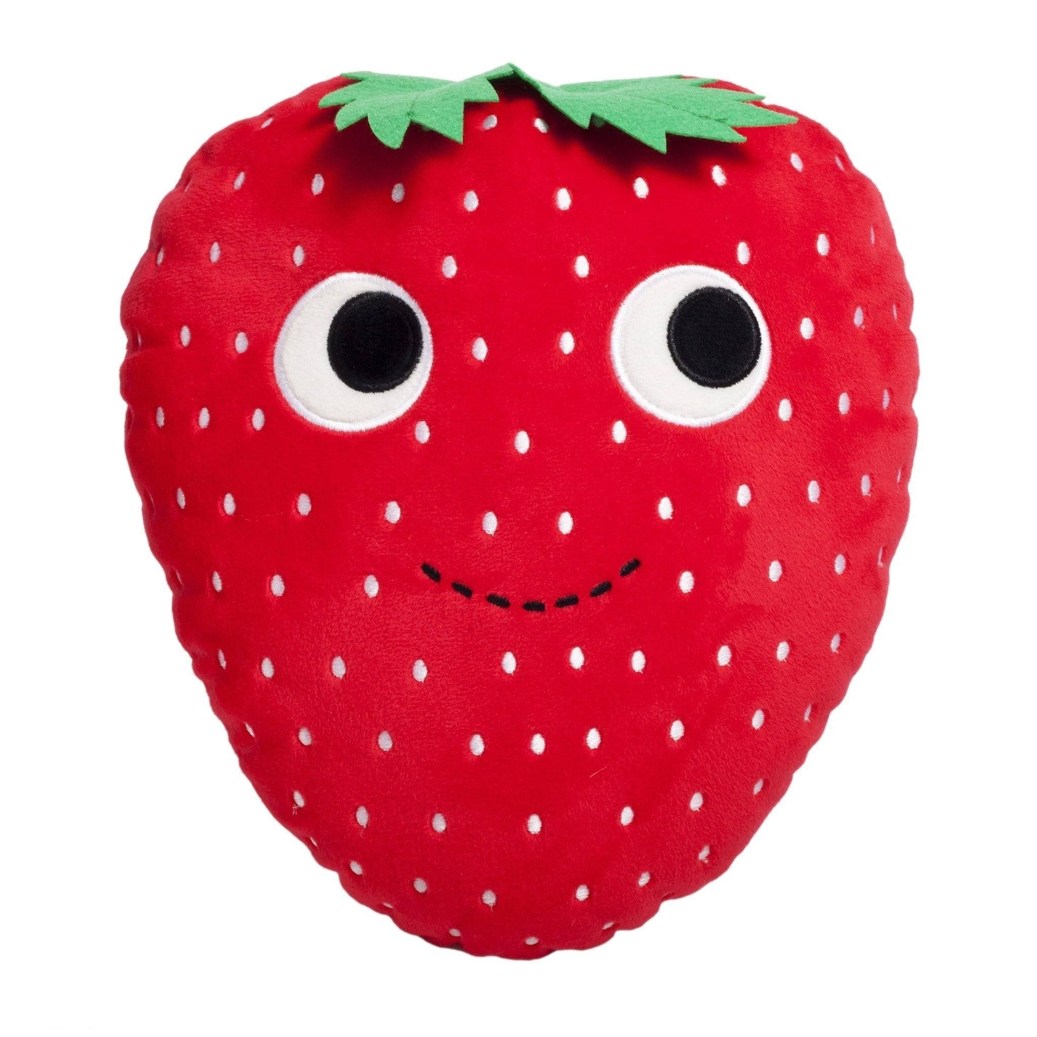 "YUMMY WORLD Strawberry 10"" Plush - Kidrobot - 1"