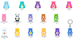 Care Bears Blind Box Keychain Series - Kidrobot
