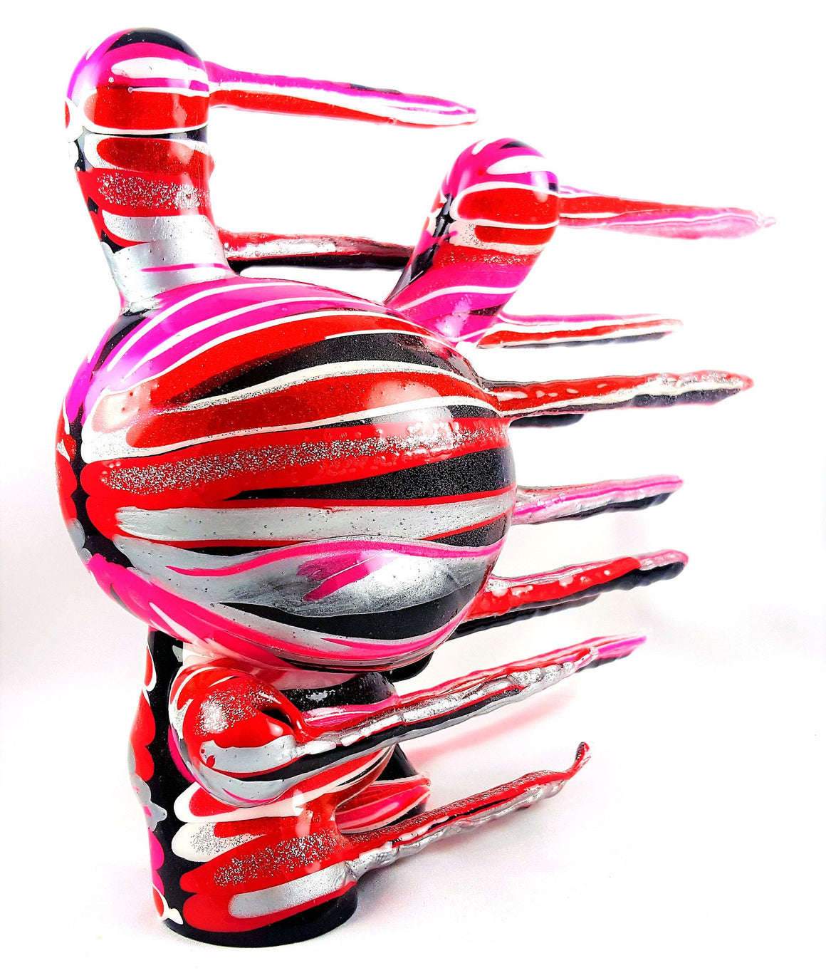 "Resin - Blown Away ""Valentines"" Custom 8"" Dunny By Josh Mayhem"