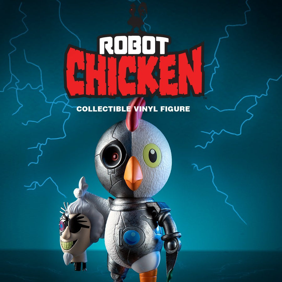 Adult Swim Robot Chicken Vinyl Art Figure by Kidrobot - Kidrobot