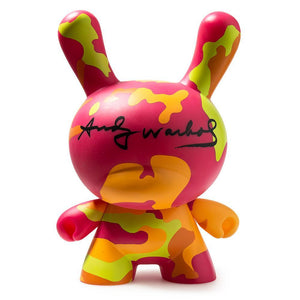 "Vinyl - Andy Warhol 8"" Masterpiece Camo Dunny By Kidrobot"