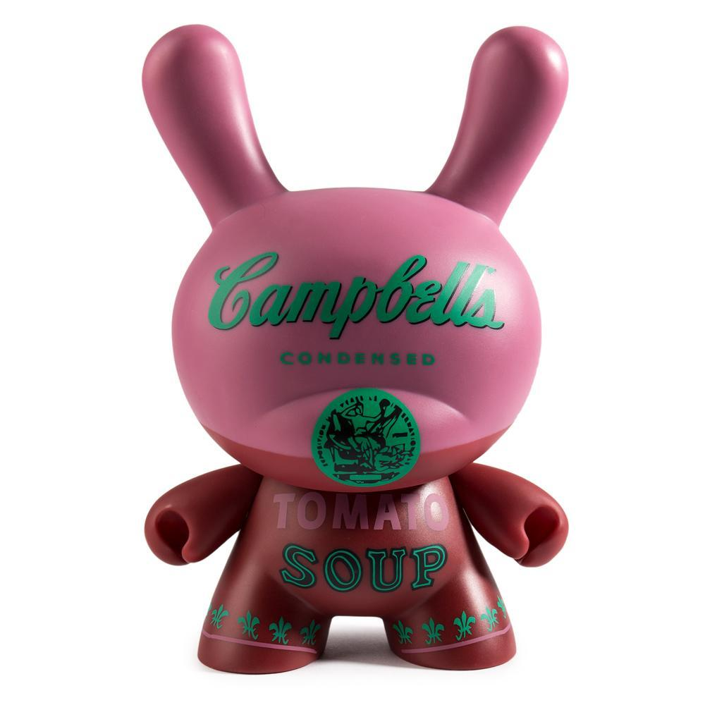 "Vinyl - Andy Warhol Campbells Soup Can 8"" Masterpiece Dunny"
