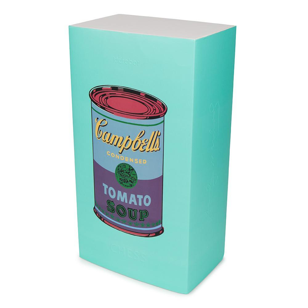 Andy Warhol Campbells Soup Can Chess Set - Kidrobot
