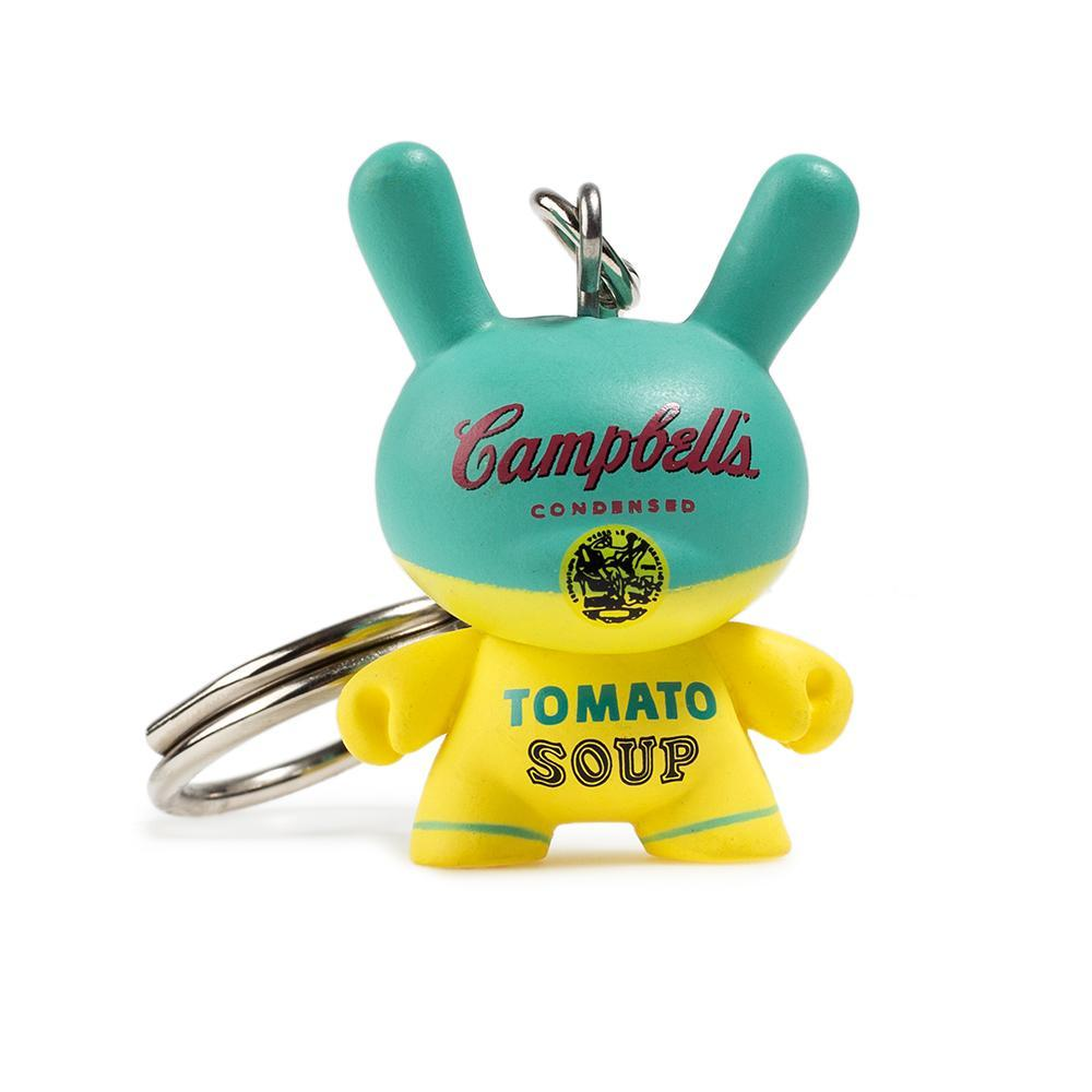 Kidrobot ANDY WARHOL DUNNY KEYCHAIN SERIES CAMPBELL/'S SOUP CAN Vinyl Figure