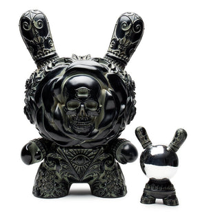"Vinyl - Arcane Divination Clairvoyant 20"" Antique Black Dunny By JRYU"
