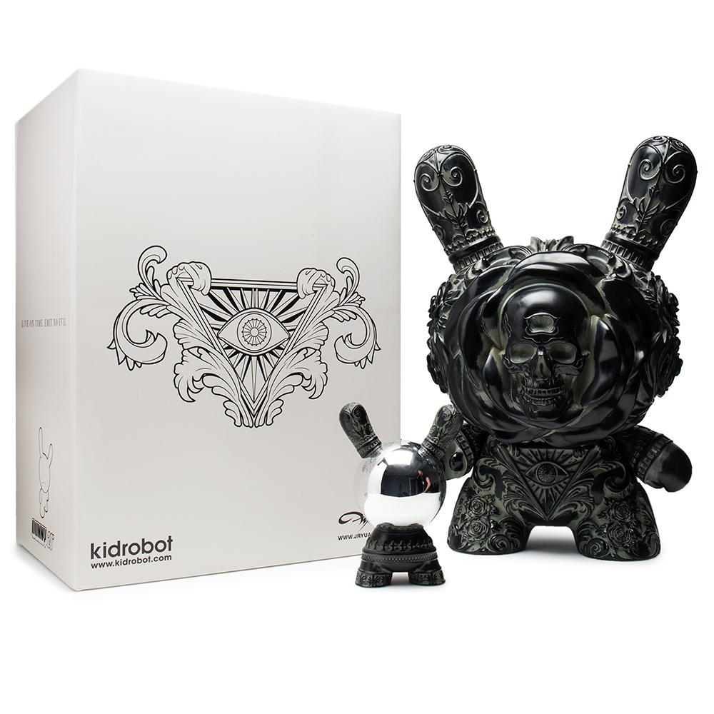 "Arcane Divination Clairvoyant 20"" Antique Black Dunny by JRYU - Kidrobot"