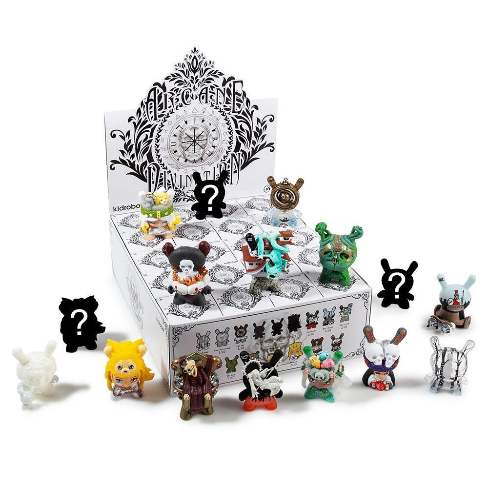 White Kidrobot Arcane Divination 3-Inch Vinyl Mini-Figure Death