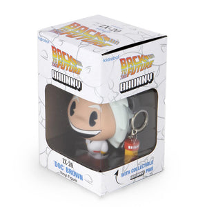 "Back to the Future Doc Brown Bhunny 4"" Vinyl Figure (IX-20) - Kidrobot - Designer Art Toys"