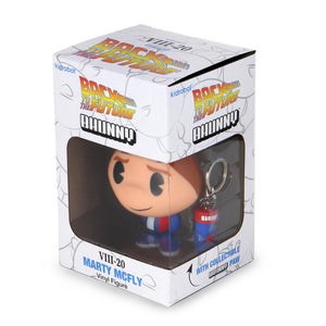 "Back to the Future Marty McFly Bhunny 4"" Vinyl Figure (VIII-20) - Kidrobot - Designer Art Toys"