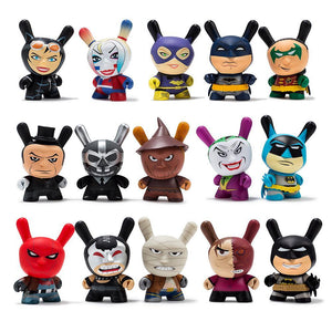 "Vinyl - Batman X Kidrobot 3"" Blind Box Dunny Figures"