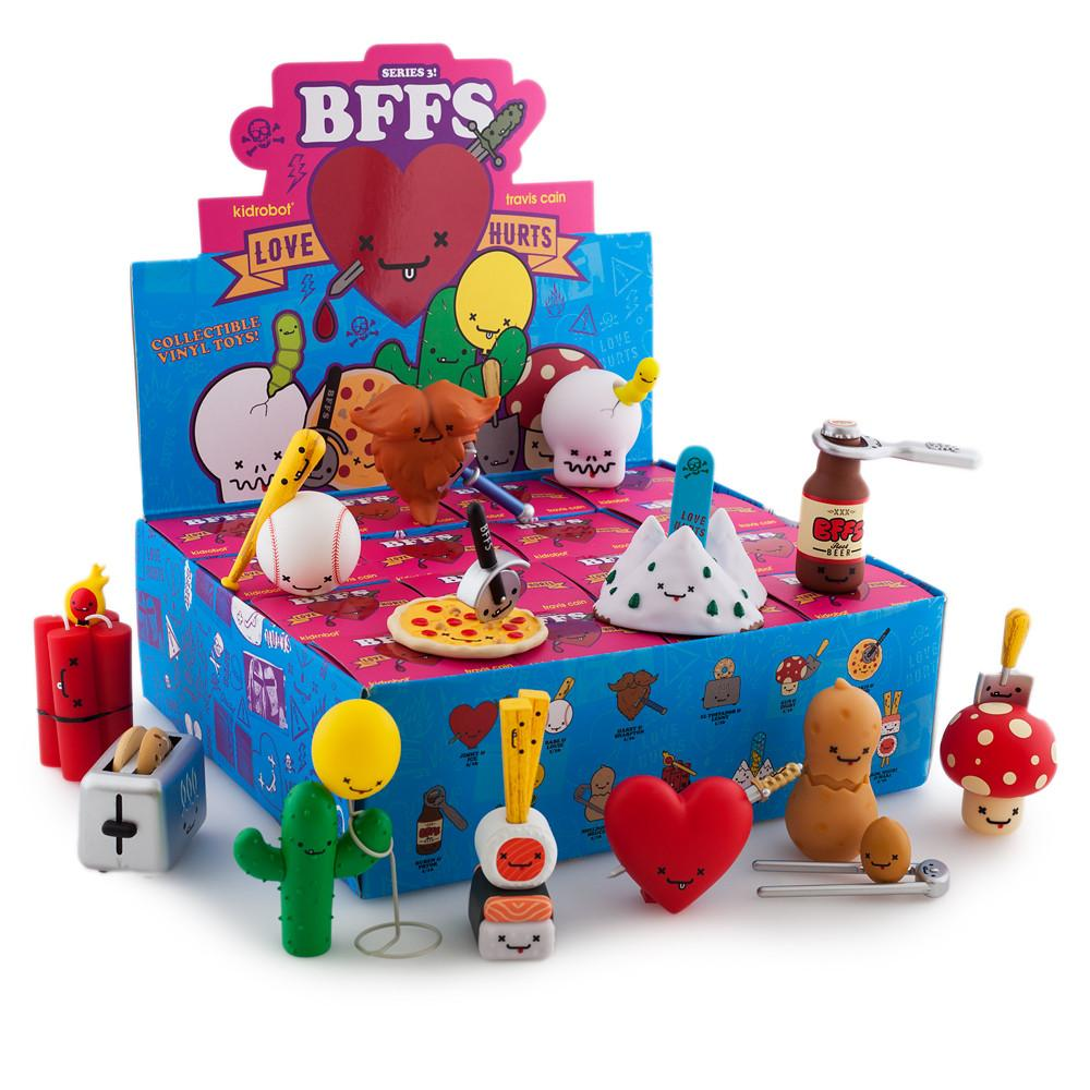 "BFFs Best Friends Forever Love Hurts 3"" Blind Box Mini Series - Kidrobot - Designer Art Toys"