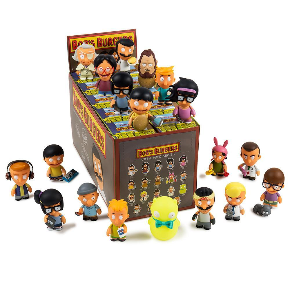 "Bobs Burgers 3"" Blind Box Mini Figure Series - Kidrobot"