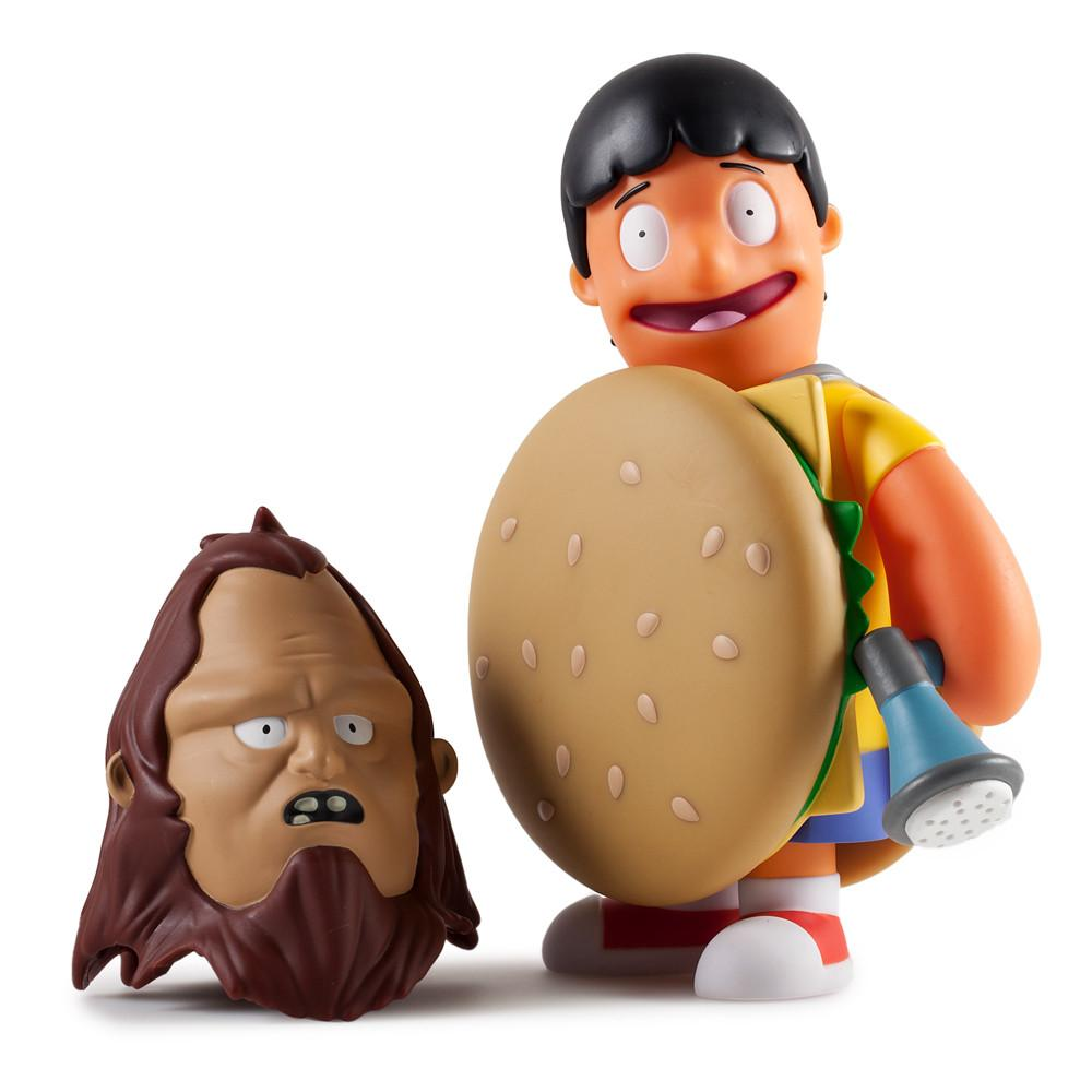 bobs burgers beefsquatch 7 art figure by kidrobot