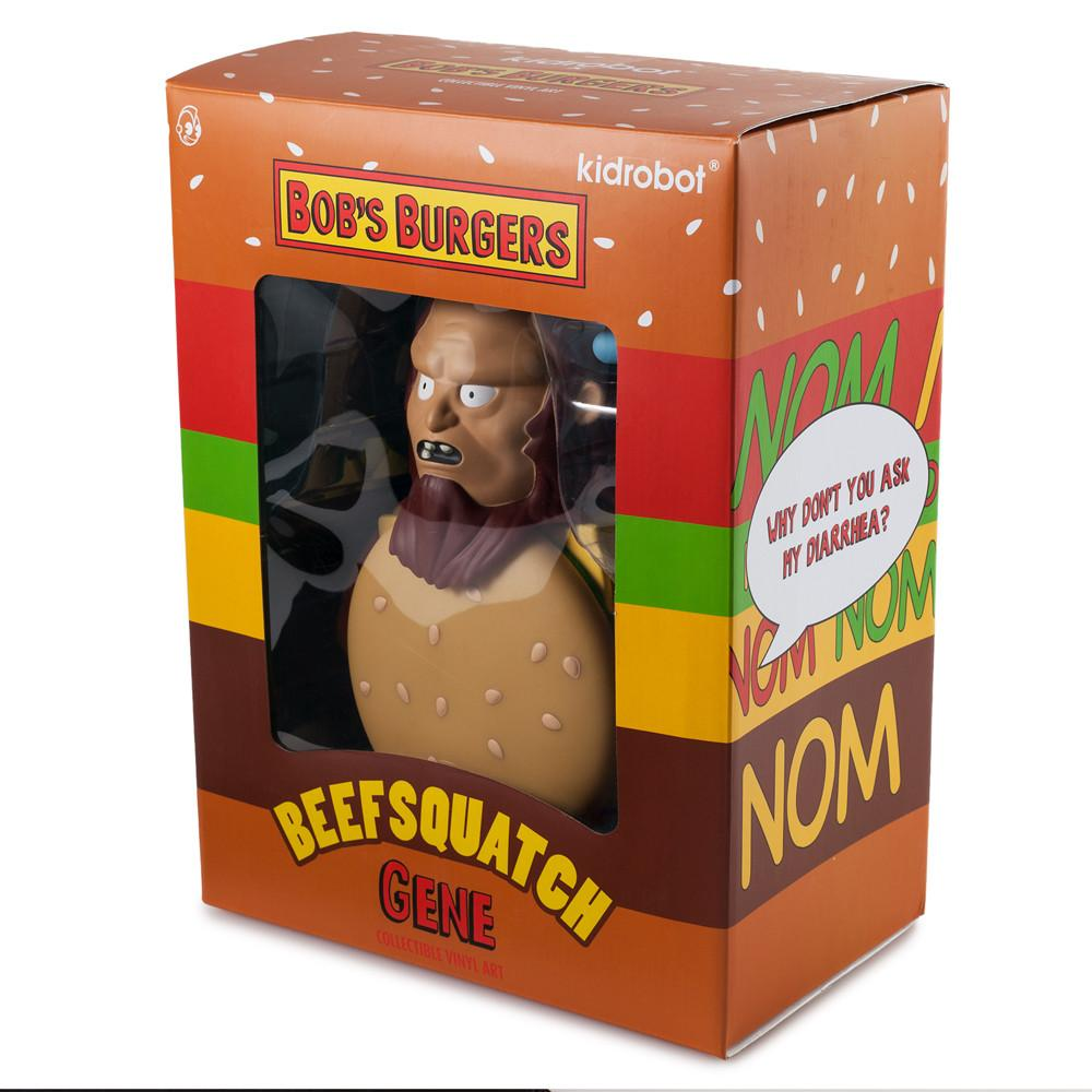 "Bobs Burgers Beefsquatch 7"" Art Figure by Kidrobot - Kidrobot"