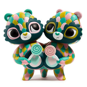 Care Bears Share Bear Green Art Figure by Jordan Elise Perme - Kidrobot