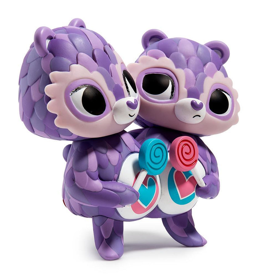 Care Bears Share Bear Purple Art Figure by Jordan Elise Perme - Kidrobot