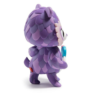 Care Bears Share Bear Purple Art Figure by Jordan Elise Perme - Kidrobot - Designer Art Toys
