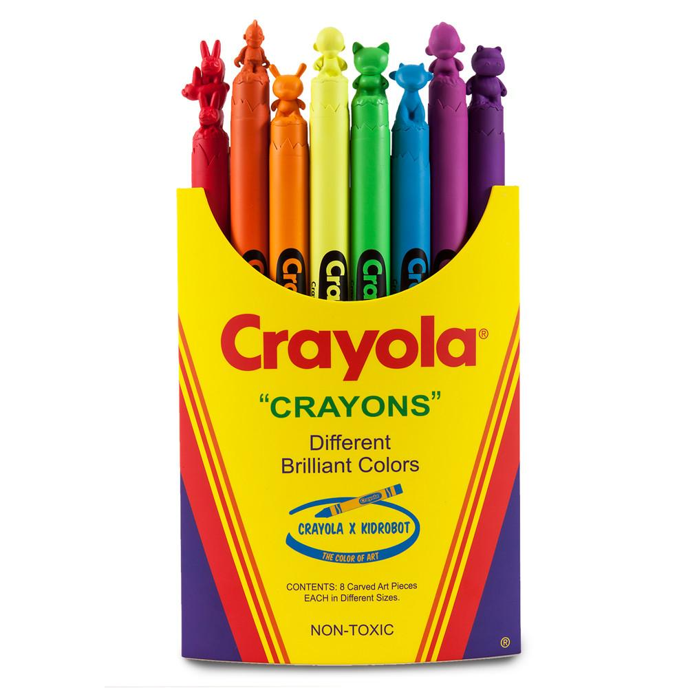 Crayola Toys, Art Figures & Collectibles by Kidrobot