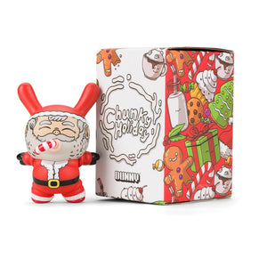 Chunky Holiday Dunny by Alex Solis - Santa Edition - Kidrobot - Designer Art Toys