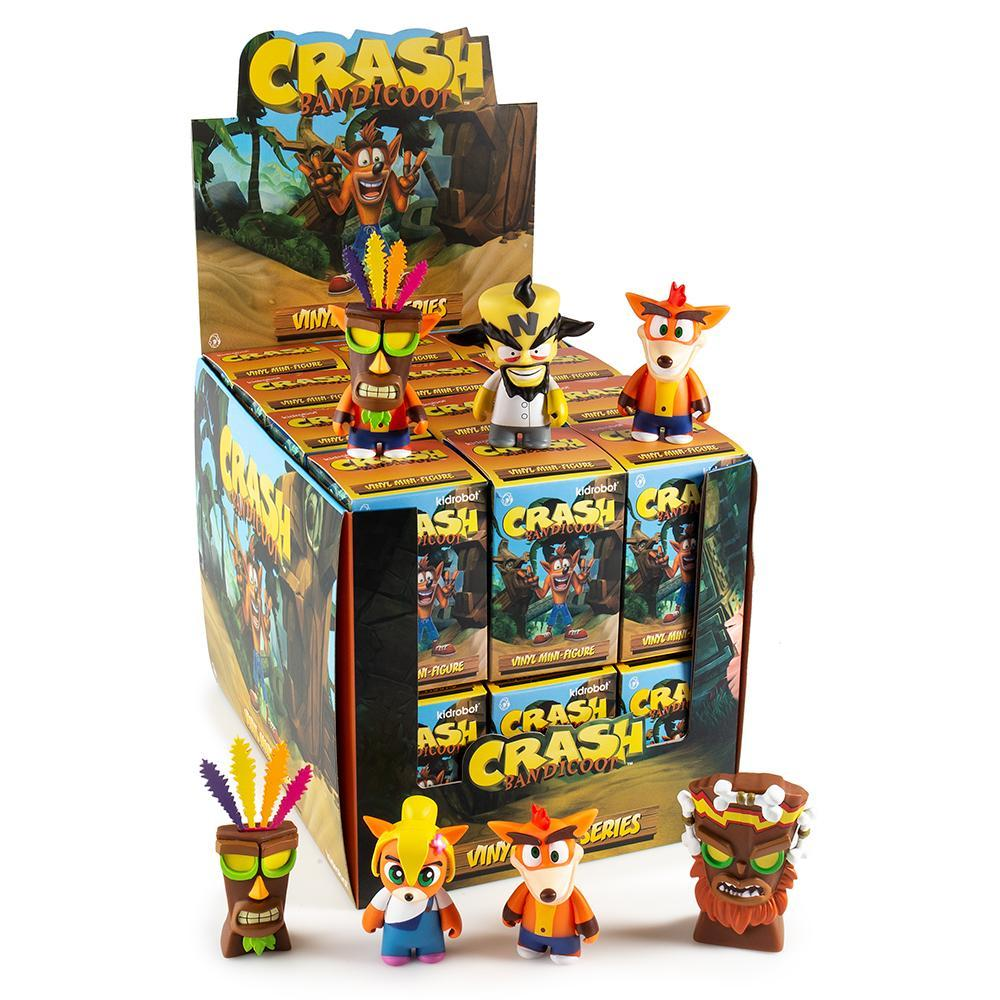 "Crash Bandicoot 3"" Blind Box Mini Figure Series - Kidrobot"