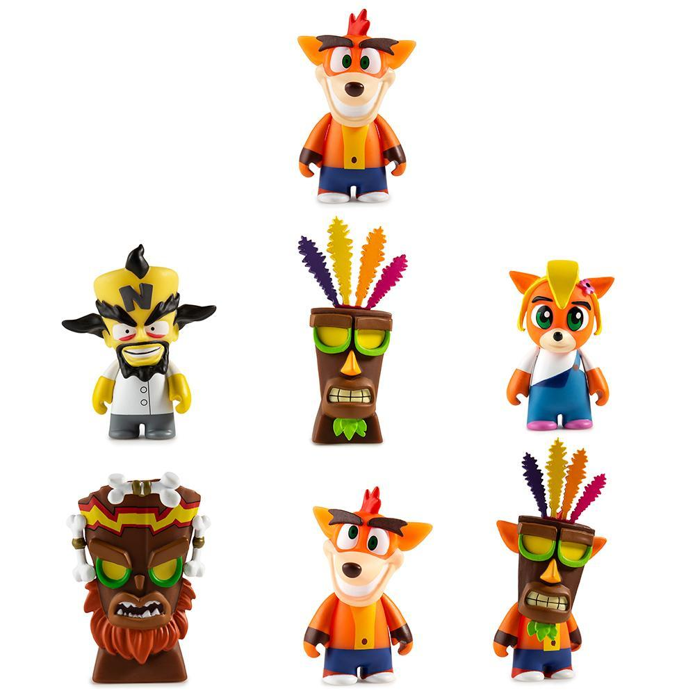 crash bandicoot toys collectibles from kidrobot