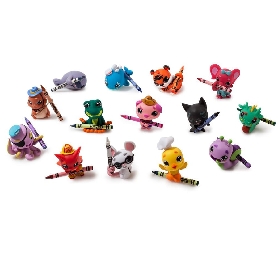 Crayola Coloring Critters Blind Box Mini Figures - Kidrobot