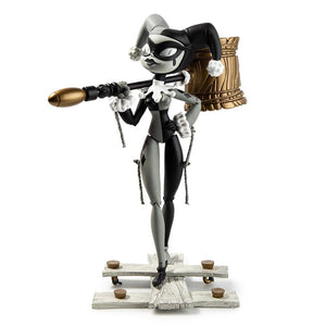 Vinyl - DC Comics X Kidrobot Harley Quinn Grayscale Art Figure By Brandt Peters