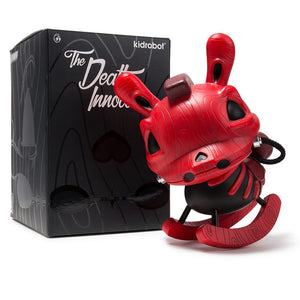 "Vinyl - Death Of Innocence 8"" Red Rocking Horse Dunny By Igor Ventura"