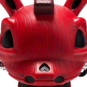 "Death of Innocence 8"" Red Rocking Horse Dunny by Igor Ventura - Kidrobot"